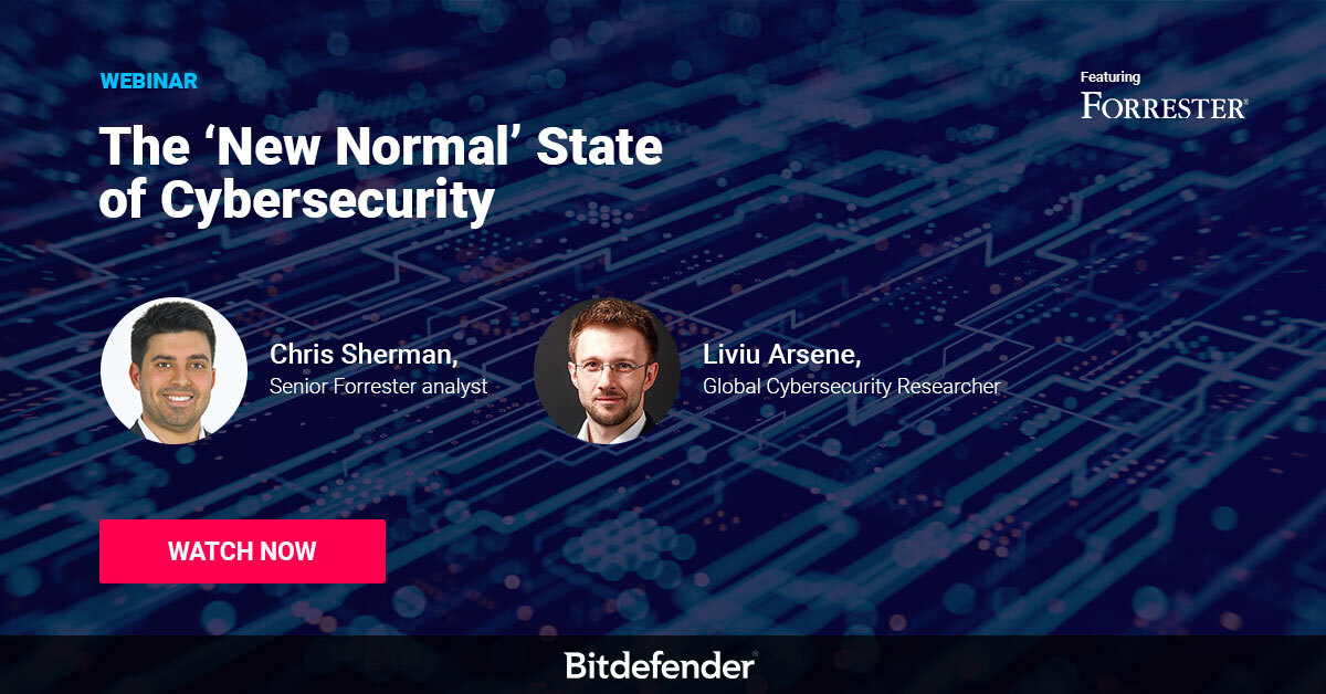 New Normal State of Cybersecurity Webinar Bitdefender