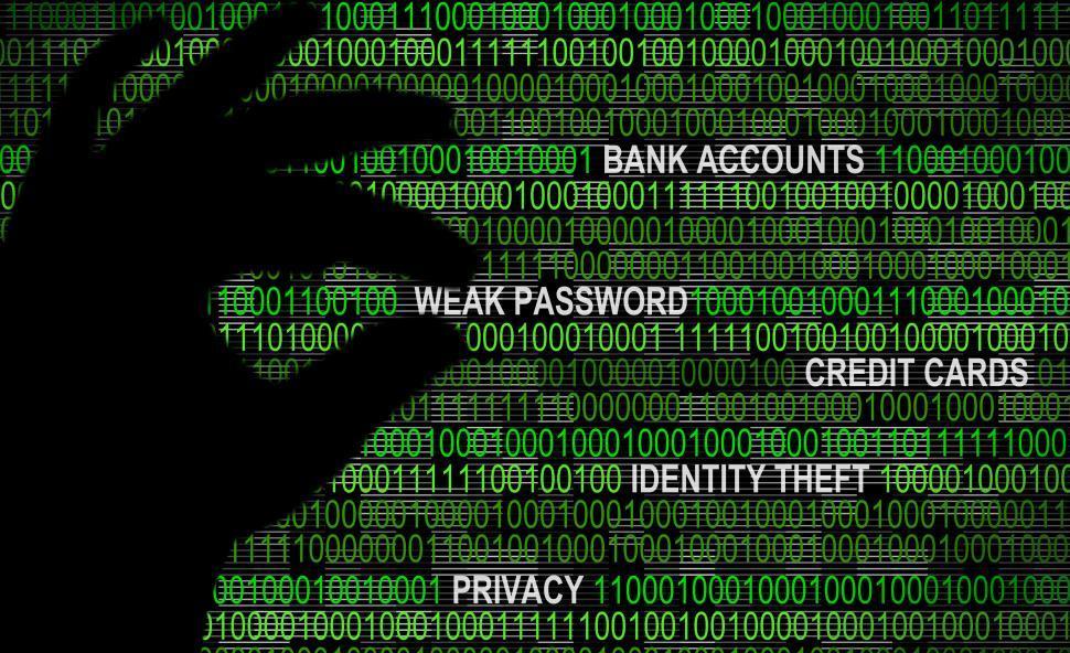 cybersecurity--weak-password-concept