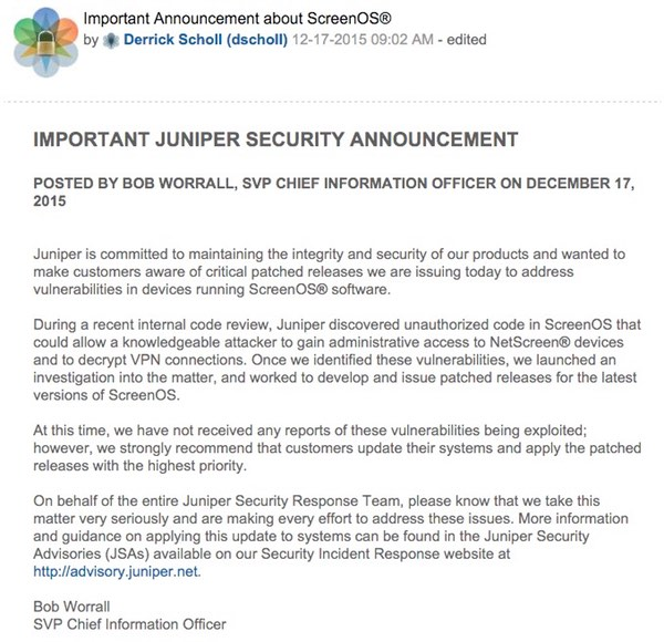 juniper-announcement
